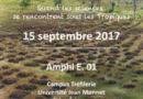 Séminaire – Quand les sciences se rencontrent sous les tropiques (15 septembre 2017)