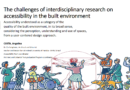 The challenges of interdisciplinary research on accessibility in the built environment