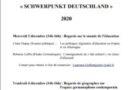 séminaire «SCHWERPUNKT DEUTSCHLAND»